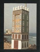 Saudi Arabia Picture Postcard A Public Sculpture On The Red Sea Jeddah View Card - Saudi Arabia