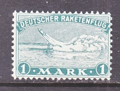 GERMANY  ZUCKER  ROCKET  MAIL  1 B  Perf. 10 3/4 X 11 3/4    * - Airmail