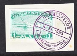 GERMANY  ZUCKER  ROCKET  MAIL  1 C     (o)  Not Flown - Airmail