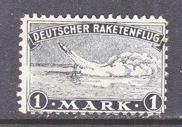 GERMANY  ZUCKER  ROCKET  MAIL  2 B    * - Airmail