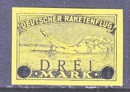 GERMANY  ZUCKER  ROCKET  MAIL  5  * - Airmail