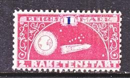 GERMANY  ZUCKER  ROCKET  MAIL  6 B   * - Airmail
