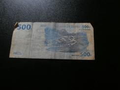 Billet 500 Francs Congolais 04/01/2002 (Exploitation Diamantifère) - République Démocratique Du Congo & Zaïre