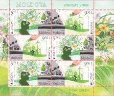 MD 2016-948-9 EUROPA CEPT, MOLDAVIA, MS, MNH - Moldawien (Moldau)