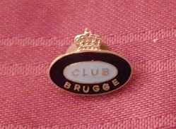 CLUB BRUGGE KV BELGIUM, RARE VINTAGE ENAMEL PIN BADGE FOOTBALL SOCCER - Football
