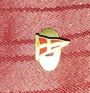 AS ROMA ITALIA ITALY, ORIGINAL VINTAGE BUTTONHOLE PIN BADGE - Football