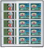 Korea 1986, SC #2608-09, M/S Of 10, UNESCO, Children - Childhood & Youth