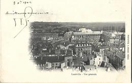 54 Lunéville Vue Générale  CPA 1902 - Luneville
