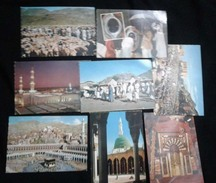 Saudi Arabia Lot 8 Picture Postcard Holy Mosque Ka´aba Mecca Medina Mina Islamic View Card - Arabie Saoudite