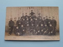 Soldiers / Soldats / Soldaten : Verstuurd SOLTAU Baraque 14 / 1915 / Verstuurd Naar Loncin Larondelle ( Zie Foto's ) !! - Guerra, Militari