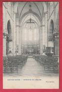 Ham-sur-Heure - Intérieur De L'Eglise - 1909 ( Voir Verso ) - Ham-sur-Heure-Nalinnes