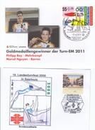 TURNSPORT-GYMNASTICS-GYMN ASTIQUE-GINNASTICA, Special Stamp / Cover / Postmark !! - Gymnastik