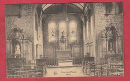 Cour Sur-Heure - Eglise ... Intérieur  ( Voir Verso ) - Ham-sur-Heure-Nalinnes