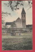 Cour Sur-Heure - Choeur De L'Eglise .... Vue Couleur ... Groupe D'enfants ( Voir Verso ) - Ham-sur-Heure-Nalinnes
