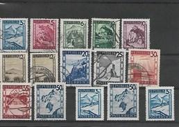 AUTRICHE Petit Lot Vrac 15 Timbres Avec 1 Doublon 12 Obl. 2 NSG & 1 Neuf YT 600 (le Dernier) /// 0.02 Euro Le Timbre /// - Autriche