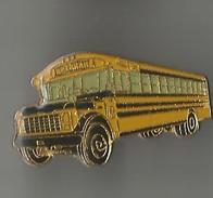 Pin´s Bus Américain Ancien - Trasporti