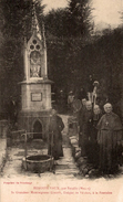 BENOITE VAUX PAR SOUILLY MONSEIGNEUR GINISTY EVEQUE DE VERDUN A LA FONTAINE - France