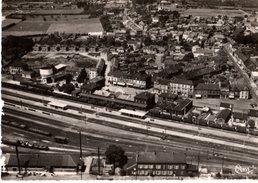 59----AULNOYE AYMERIES--vue Générale Aérienne Et La Gare---voir 2 Scans - Aulnoye