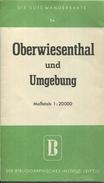 Deutschland - Die Gute Wanderkarte - Oberwiesenthal Und Umgebung 1:20000 - VEB Bibliogaphisches Institut Leipzig - Mehrf - Landkarten