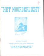 Het Noorderlicht, Tijdschrift Vd Postzegel Vereniging Scandinavië Nr 90 T/m Nr 109, Compleet Van 1987 (nr 90) T/m 1991 - Riviste