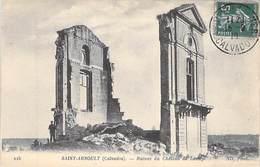14 - ST ARNOULT * Ruines Du Chateau De Lassay 1916 - France