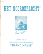 Het Noorderlicht, Tijdschrift Vd Postzegel Vereniging Scandinavië, Nr 30 T/m Nr 49, Compleet Van 1972 (nr 30) T/m 1976 - Holandés (desde 1941)