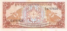 BHOUTAN   5 Ngultrum   ND (1990)   P. 14b   SUP - Bhoutan