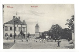 16468 - Rhinow Marktplatz - Rhinow
