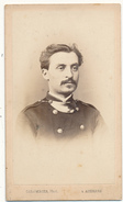 CDV - Militaire, Second Empire - Colombier, Auxerre - 2 Scans - Old (before 1900)