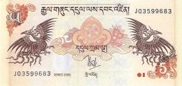 BHOUTAN   5 Ngultrum   2006   P. 28a   UNC - Bhoutan