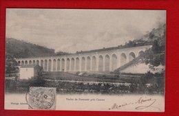 1 Cpa Carte Postale Ancienne -  Viaduc De Fontanet Pres Cahors - Cahors