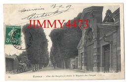 CPA - Allée Des Soupirs à Droite Le Magasin Des Pompes En 1907 - EVREUX 27 Eure - Edit. B. F. Paris N° 26 - Recto-Verso - Evreux