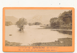 CDV - Au Bord Du Lac Chambon, Près Murols - 2 Scans - Photos