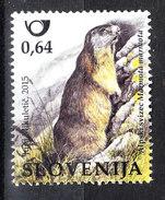 Slovenia   -  2015. Marmotta,  Marmot - Roditori