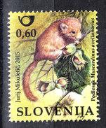Slovenia   -  2015. Moscardino. Hazel Dormouse - Roditori
