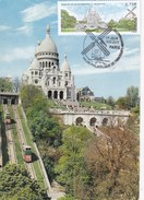 C.M: FRANCE: MONTMARTRE Salon Philatélique De Printemps 1er Jour 9.03.2017 - Cartas Máxima