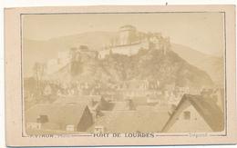 CDV - Le Fort De Lourdes - Viron, Lourdes - 2 Scans - Anciennes (Av. 1900)