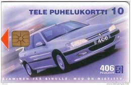 FINLANDE FINLAND PEUGEOT 406 PRIVEE NEUVE MINT 10U - Voitures