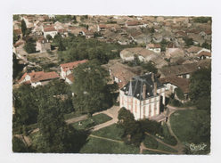 CPM - 71 - PRETY - VUE AERIENNE SUR LE CHATEAU - France