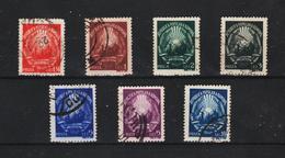1949 - ROMANIA  Mi No 1180/1186  Embleme De La Republique - 1948-.... Republics