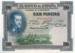 BILLET ESPAGNE 100 PESETAS 1925 - [ 1] …-1931 : First Banknotes (Banco De España)