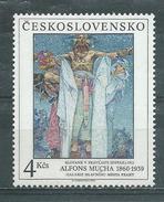 "TCHECOSLOVAQUIE  Yvert  N° 2871 **  ALFONS MUCHA  ""Slaves Dans Leur Patrie"" - Tchécoslovaquie"