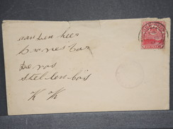 CAP DE BONNE ESPÉRANCE - Enveloppe Pour Stellenbosch En 1901 - L 6411 - África Del Sur (...-1961)