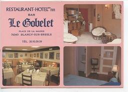 """Blangy Sur Bresle : Hotel Restaurant """"Le Gobelet"""" Place De La Mairie - Chambre Bar Accueil Expo Permanente Arts - Blangy-sur-Bresle"""