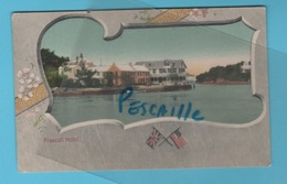 BERMUDES BERMUDA - CP COLORISEE FRASCATI HOTEL - F. W. GRANTHAM HAMILTON N° 527 - Bermudes