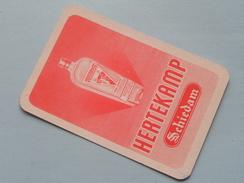 HERTEKAMP Schiedam / JOKER ( Details - Zie Foto´s Voor En Achter ) !! - Cartes à Jouer Classiques