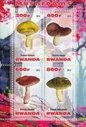 RUANDA Mushrooms 3,unused(Z1) - Mushrooms