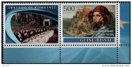 GUINEE-BISSAU 2008 ** MNH Pieter Pierre BRUEGEL Peintre Flammand : Tableau De La Tour De Babel - Autres