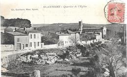 Bouches Du Rhône Marseille ST ANTOINE Quartier De L'église....CL - Nordbezirke, Le Merlan, Saint-Antoine