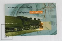 Collectible Train Topic Phone Card - Argentina - Baldwin 1926 Steam Locomotive - Trenes